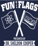 FUN WITH FLAGS HOODIE - INSPIRED BY SHELDON COOPER THE BIG BANG THEORY